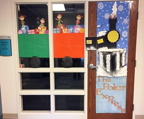 2016 Deck the Doors Contest -Carhart 106-Kelly Kenny & 103 best Holiday Door Decorations images on Pinterest | Holiday door ...