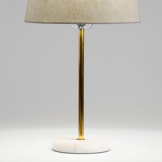 Gold And White Marble Accent Lamp Base Marble Lamp Base Accent Lamp Marble Accents