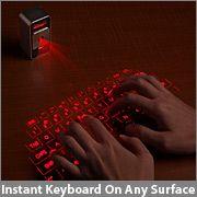 Keyboard, anywhere.