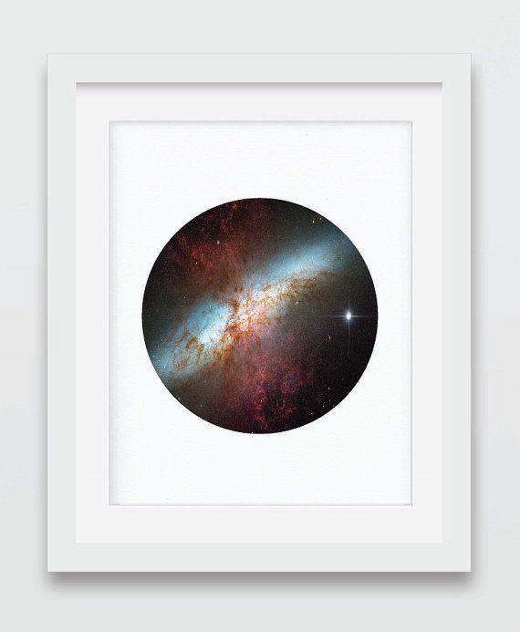 Constellation Print Shooting Star by AurasWallsVinyls on Etsy