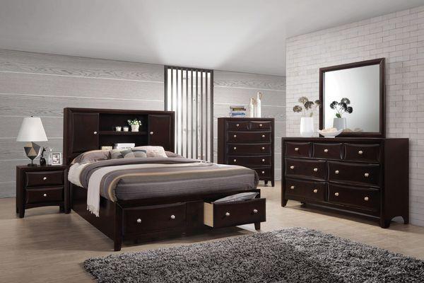Western 5 Piece Queen Bedroom Set At Gardner White Bedroom Set Bedroom Sets Queen Furniture
