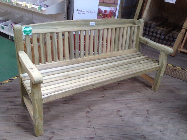 1800mm (6') Pressure Treated Softwood Bench
