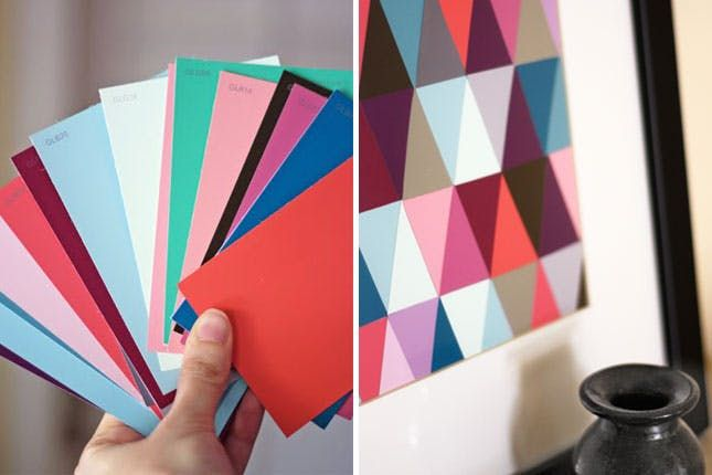 20 Best Paint Chip Crafts You'll Regret Not Knowing