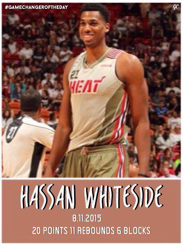 Hassan Whiteside 8.11.2015