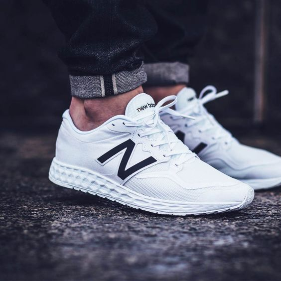 White New Balance #Sneakers #Zapatillas