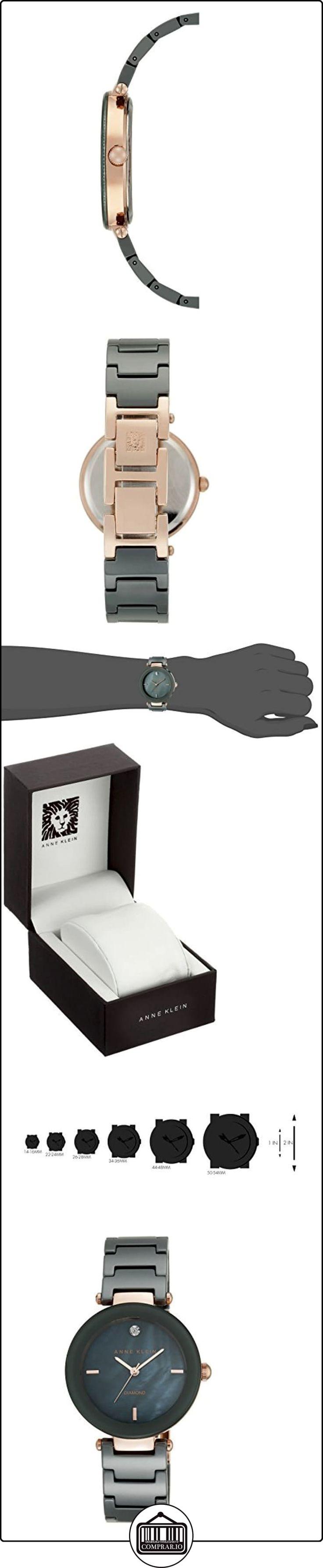 Anne Klein - Reloj de pulsera  ✿ Relojes para mujer - (Gama media/alta) ✿