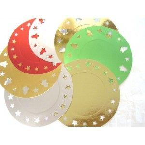 Sottopiatto in cartoncino colorato #sottopiatto #stelle #decorazioni #colori #tavola