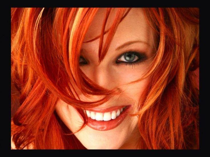 redheadsBeautiful Redheads, Hair Ideas, Red Heads, Hair Colors, Red Hair, Ass Redheads, Blondes Highlights, Hair Style, Redhair