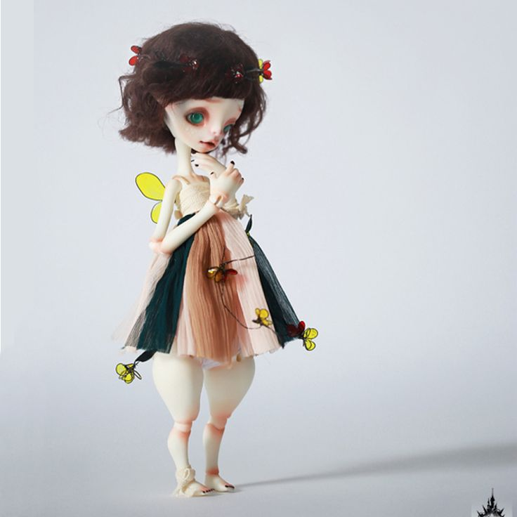 BJD doll DC / 6 stars Betty naked baby-in Dolls from Toys