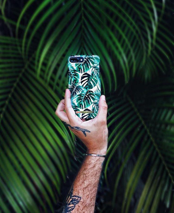 Fashion Case Monstera Jungle, pic by @tarekwantsfries #Summerinspiration #Green #Jungle #idealofsweden #Inspo