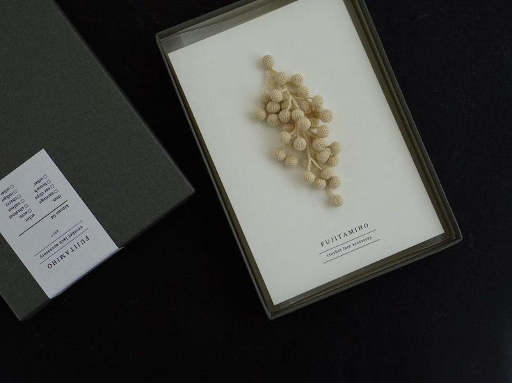 Japanese artistMiho Fujitacrochets delicate sculptures of organic matter found in forests, turning handmade leaves, berries, and clusters of mushrooms into wearable objects. The works are all created from naturally dyed cotton, Fujita using plants to both inspire and dye her jewelry.You can see m