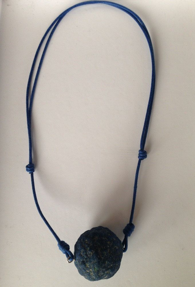 """Azurite """"Azure"""" Necklace - A Lucky Charm for the New Year - di FedericaQuaglia su Etsy"""