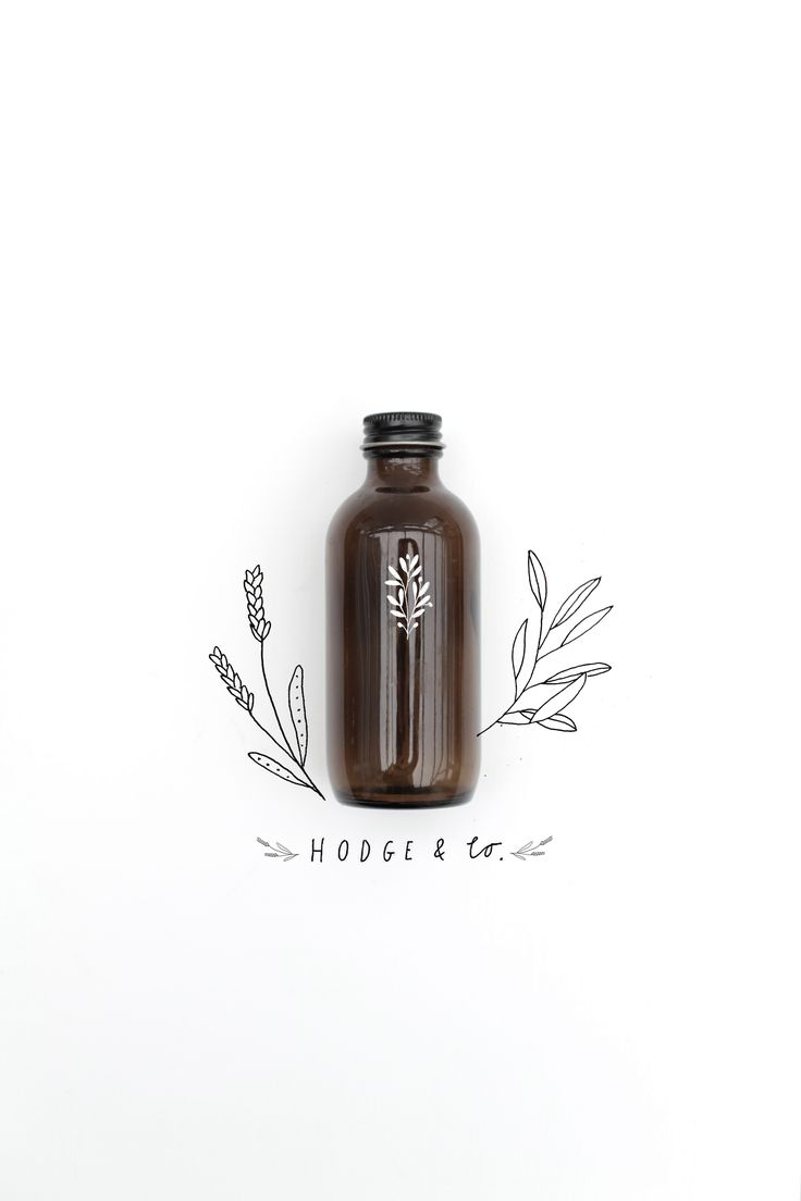 I love the way that this bottle has been advertised. The hand drawn style makes it look rustic and minimalistic. The contrast works really well with the dark brown bottle against the white background and also the text on the bottle.