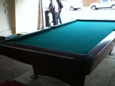 9' Brunswick Gold Crown III Professional Pool Table | eBay