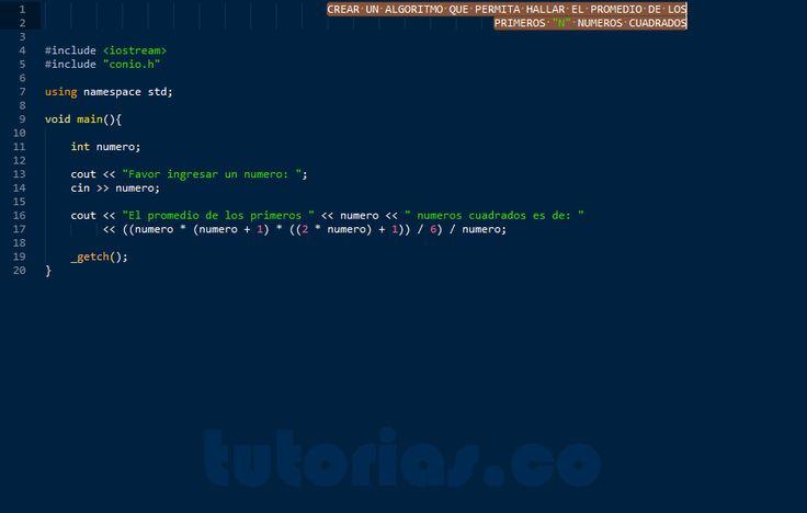 http://tutorias.co/operadores-visual-c-promedio-de-numeros-cuadrados/
