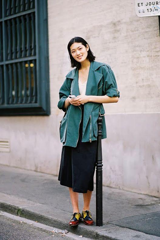 Paris Fashion Week SS 2014....Chiharu - Vanessa Jackman
