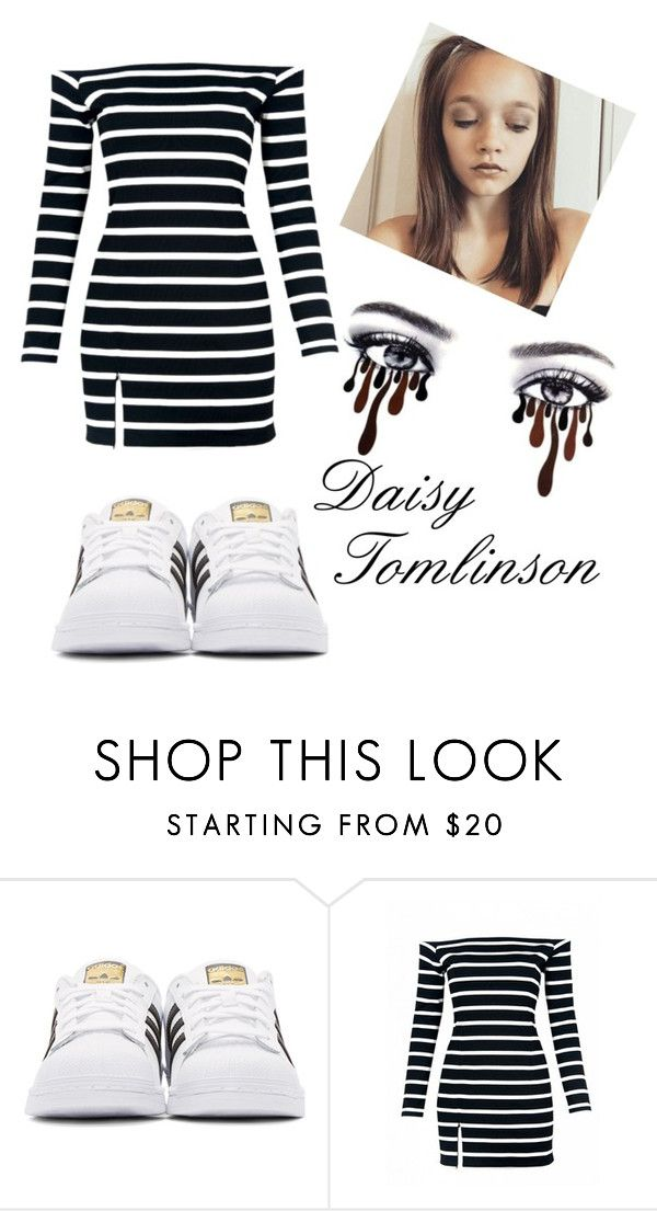 """Daisy Tomlinson  <3"" by natalia-tommo ❤ liked on Polyvore featuring adidas Originals"