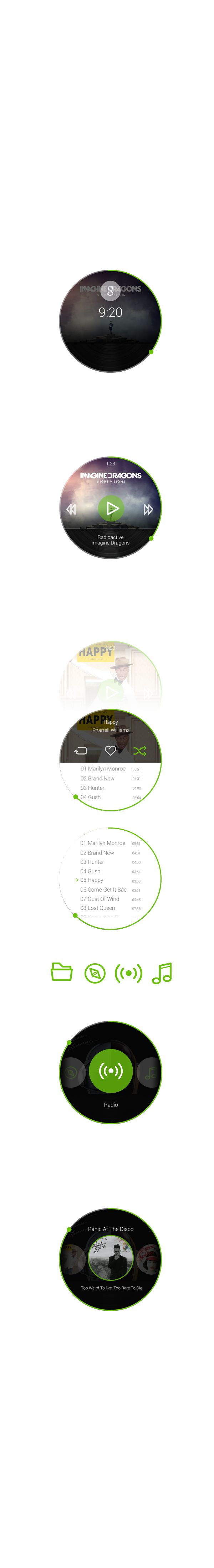 Spotify - Android Wear App