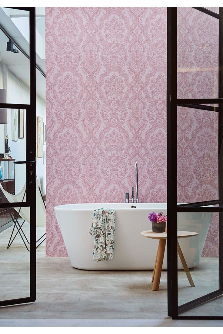 Pip Studio the Official website - Lacy Dutch wallpaper soft pink