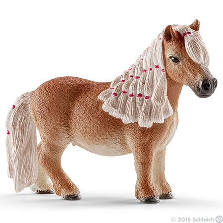 SCHLEICH: Shetland pony minimaat (merrie) 13776 (2014)