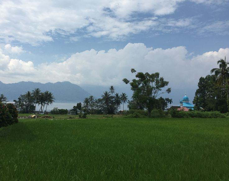 Near Maninjau Lake