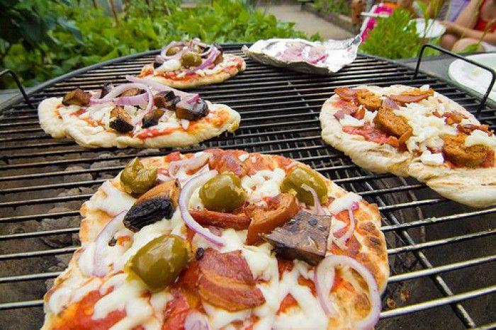 BBQ-Pizza   recept!