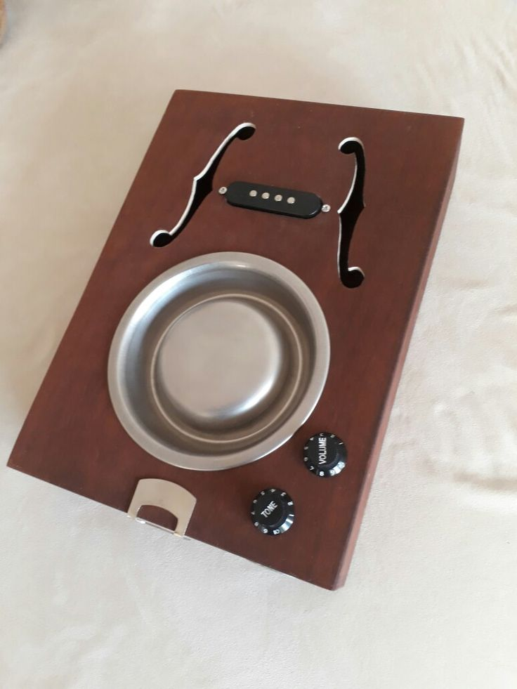 First Cat Bowl Resonator Cigar Box Resonator Build Body ...