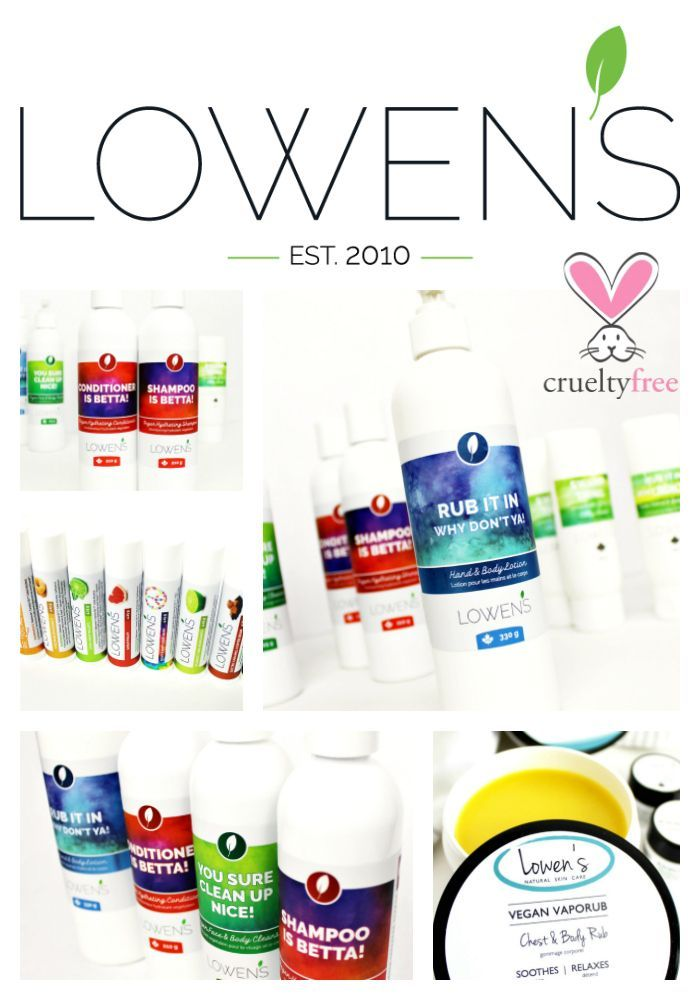 Lowen S Natural Skincare Is A Family Owned And Operated Skin Care Company Based In Calgary A In 2020 Natural Skin Care Skin Care Companies Natural Skin Care Companies