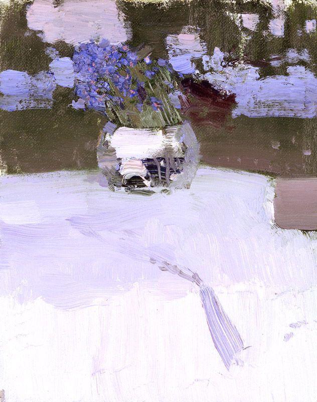 Bato Dugarzhapov. Flowers ~ Blog of an Art Admirer