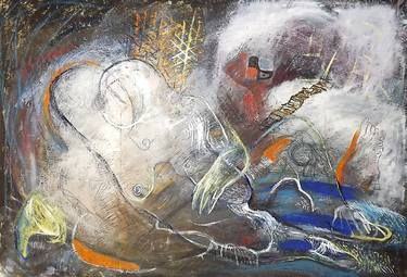 "Saatchi Art Artist Ioana Serban; Painting, ""Dream-Eel "" #art"