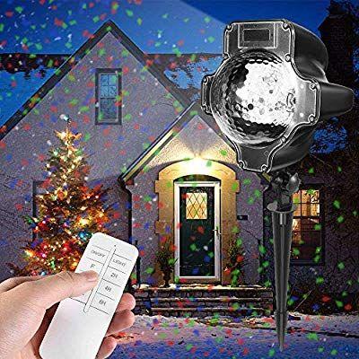Christmas Projector Lights, Womsky Rotating IP65