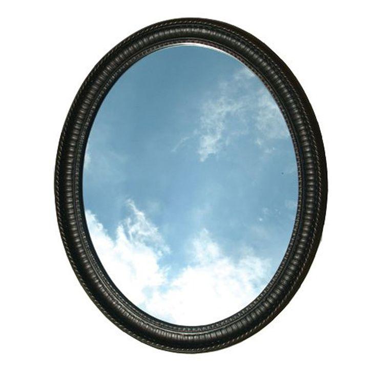 American Pride Middleton X Venetian Bronze Oval Framed Bathroom Mirror