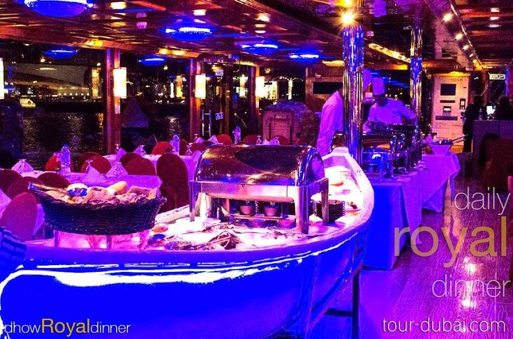 For a special #weekend be our guest on the luxurious floating restaurant #dhow #cruise for 2 hours sailing between urban & traditional #Dubai #creek.   #enjoy the international #open #buffet which is catered by #5star #hotel on the tour besides the amazing skyline.   Book #now: tour-dubai.com 800TOURDUBAI 043368407 #travel #holiday #tourism #tour #trip #boat #dinner