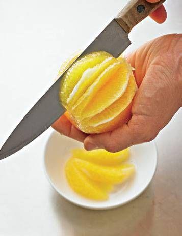 Obst: Orangen filetieren - so geht's
