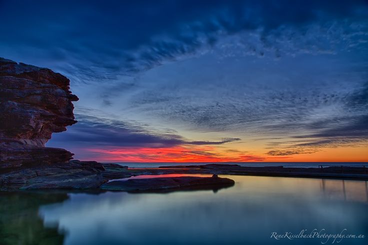 Gorgeous dawn at North Curl Cutl at Sydney's Northern Beaches