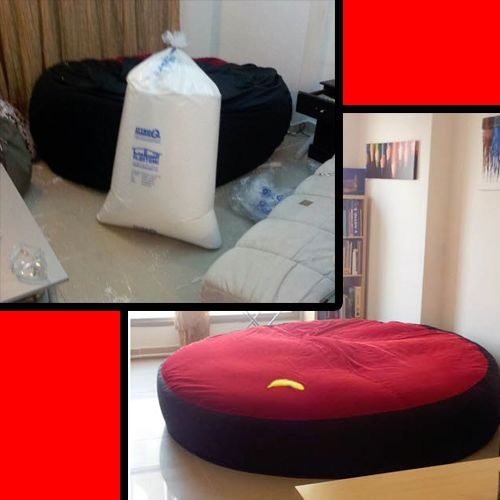 Bean bag chairs and sofas are very comfortable to sit in; the same is true with bean bag beds. If you have several free hours you can spare for a DIY project you can try making your own bean bag bed and today we want to feature what Crunchie did to create his own Bean …