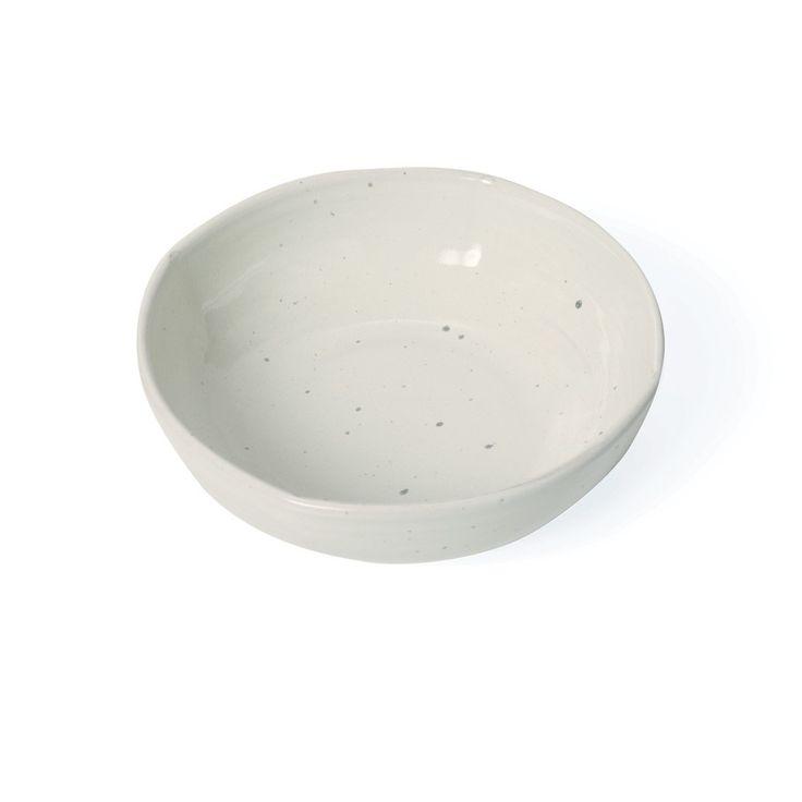 Quail Speckled Bowl - large