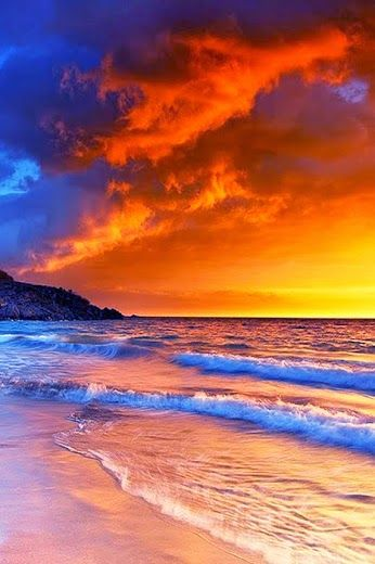 Hapuna Beach Sunset, Big Island, Hawaii