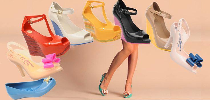 Gumowe buty marki Melissa idealne na deszczowy dzień! W nich nie przemokniesz. Już w nowościach! Ładne?   /Melissa rubber shoes perfect for a rainy day! In them wet out. Already in the news! Nice?      http://glamstorm.com/pl/przymierzalnia/ubrania/b/Melissa#brand_121