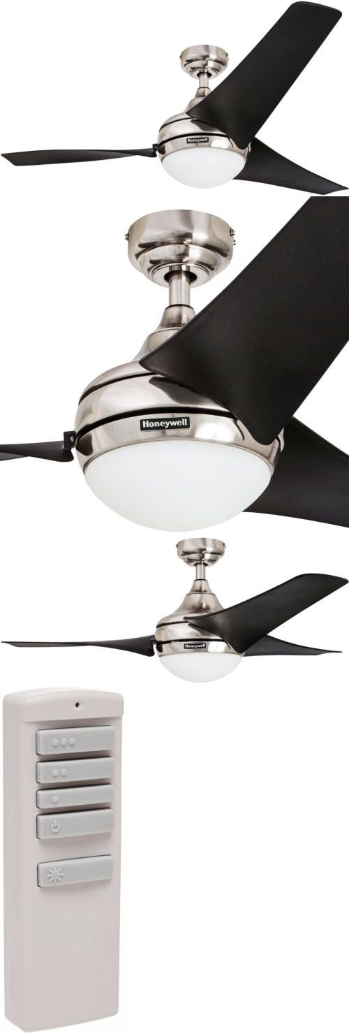 Ceiling Fans 176937: Honeywell Rio 54-Inch Ceiling Fan With Integrated Light Kit And Remote Control, -> BUY IT NOW ONLY: $188.52 on eBay!