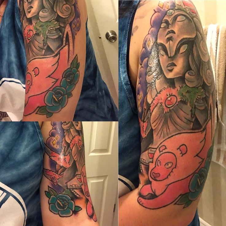 Steven Universe half-sleeve [Kitty Brooks @ Studio 617 Maryville TN]