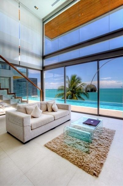 Beautiful ocean views at Thailand vacation home