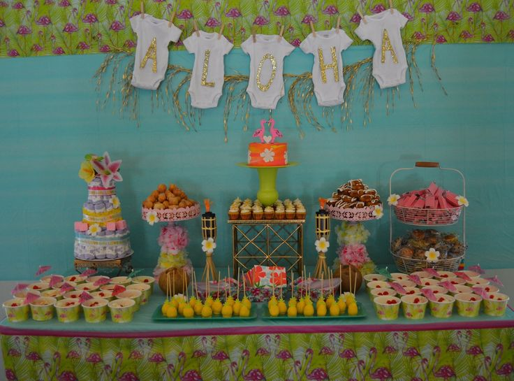 about luau baby showers on pinterest hawaiian baby showers luau