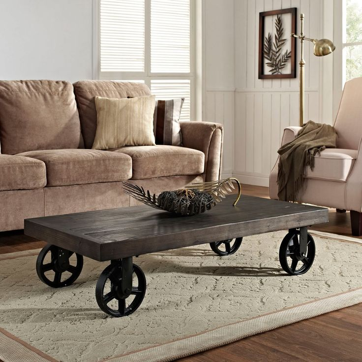Modway Garrison Coffee Table   The Modway Garrison Coffee Table Features A  Bold, Warehouse