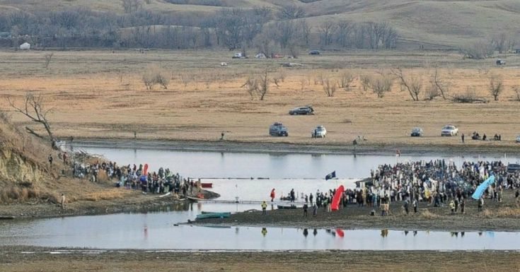 On a day imbued with painful significance for many Native Americans, hundreds of people demonstrated against the Dakota Access Pipeline (DAPL) in North Dakota and beyond on Thursday.