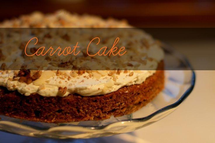 Najlepší mrkvový koláč (Best Carrot Cake ever)