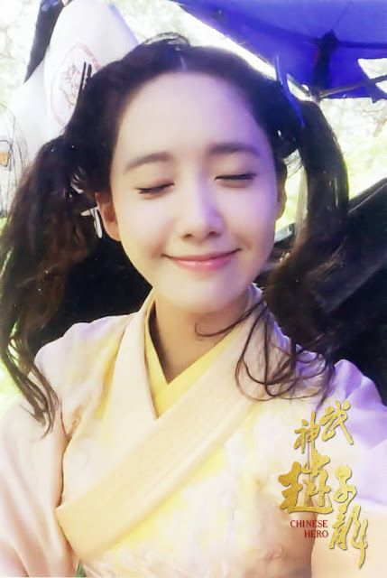 SNSD's YoonA and more of her pictures from the drama 'God of War Zhao Yun' - Wonderful Generation