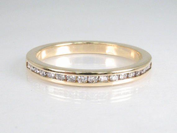 Great Channel Set Diamond Women us Wedding Band Diamonds