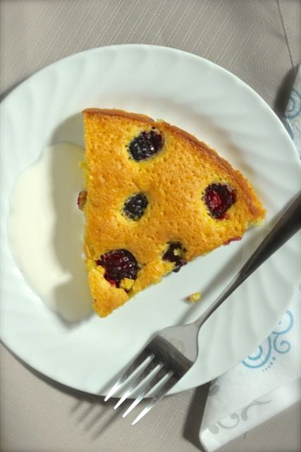 Blackberry-Almond Cake: A buttery, almond-scented cake, studded with ...
