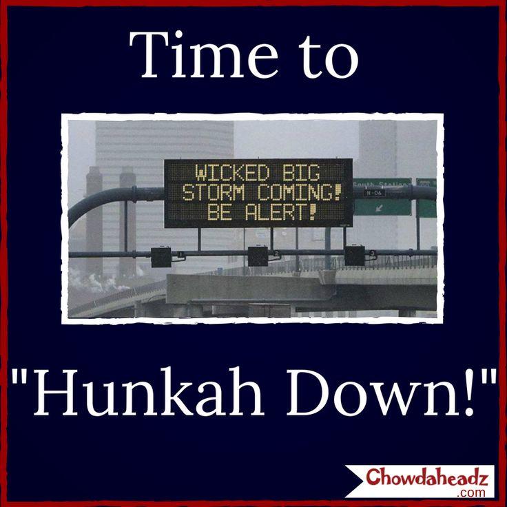 Hunkah Down! http://www.chowdaheadz.com/ | Boston ...